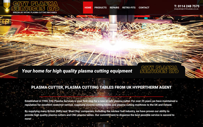 City Plasma Homepage