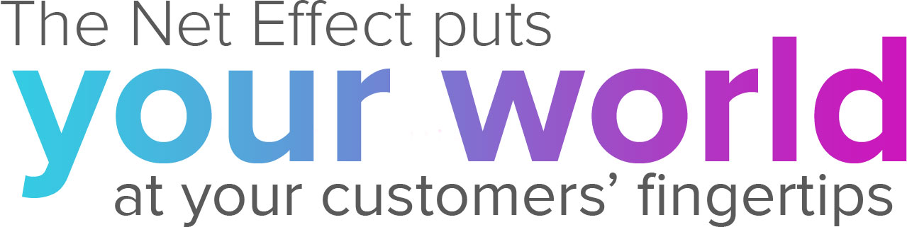 Website designers,The Net Effect, puts your world at your customers' fingertips